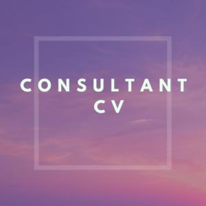 Consultant CV